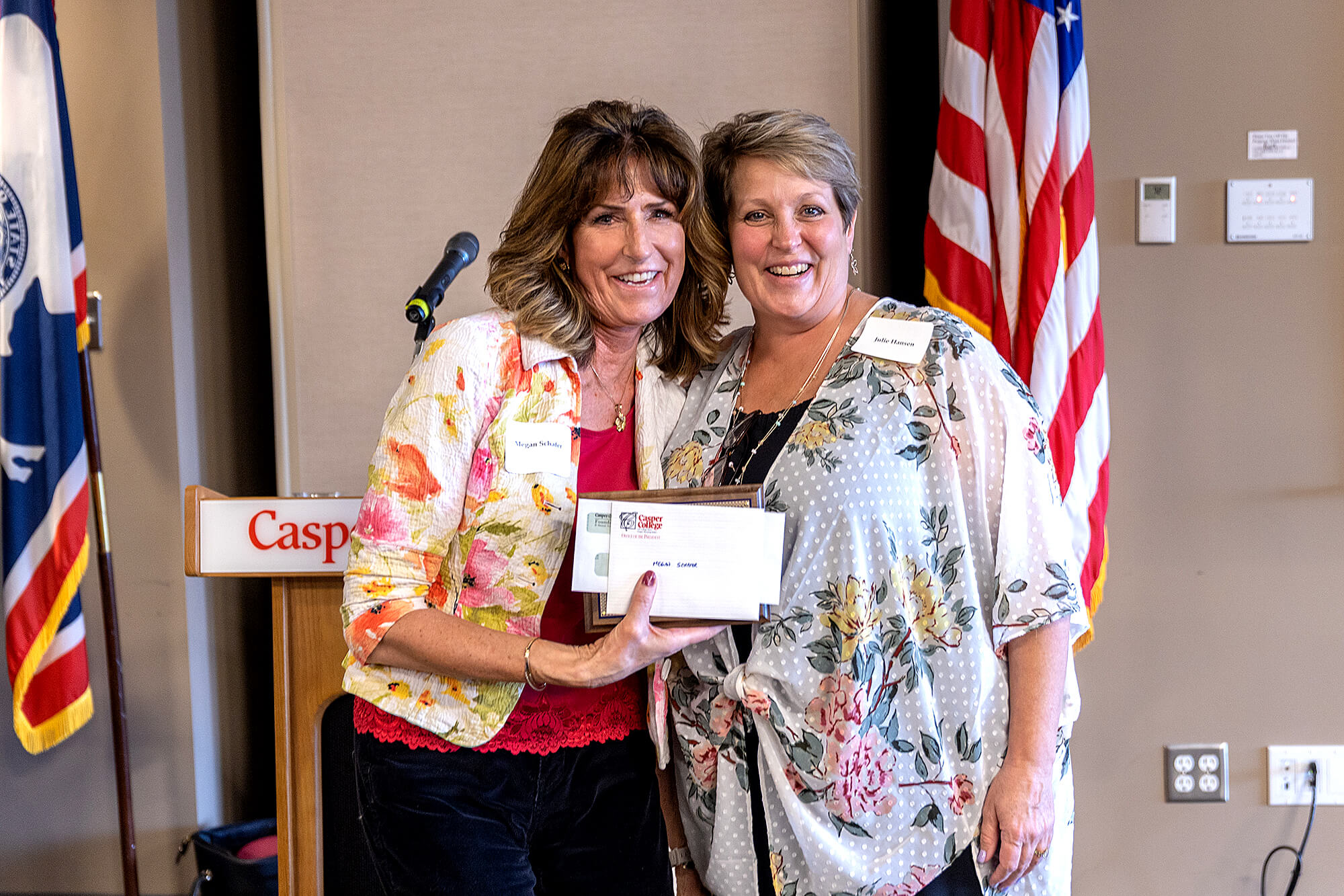 Robert O. Durst Classified Staff Award: Megan Schafer, executive assistant for administrative and student services