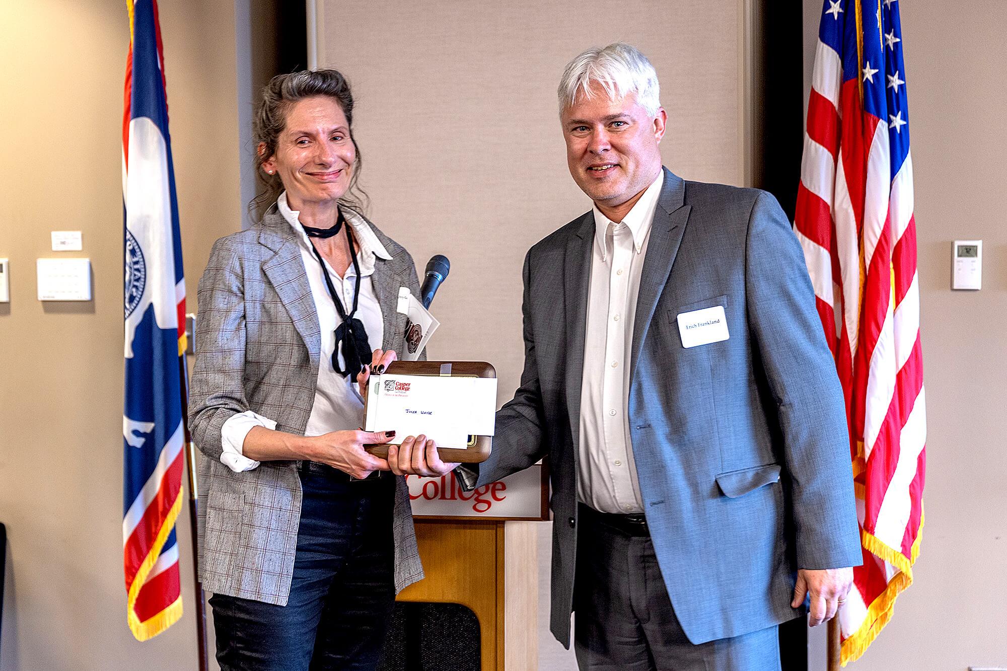 Judith Bailey Scully Award: Julia Whyde, English instructor