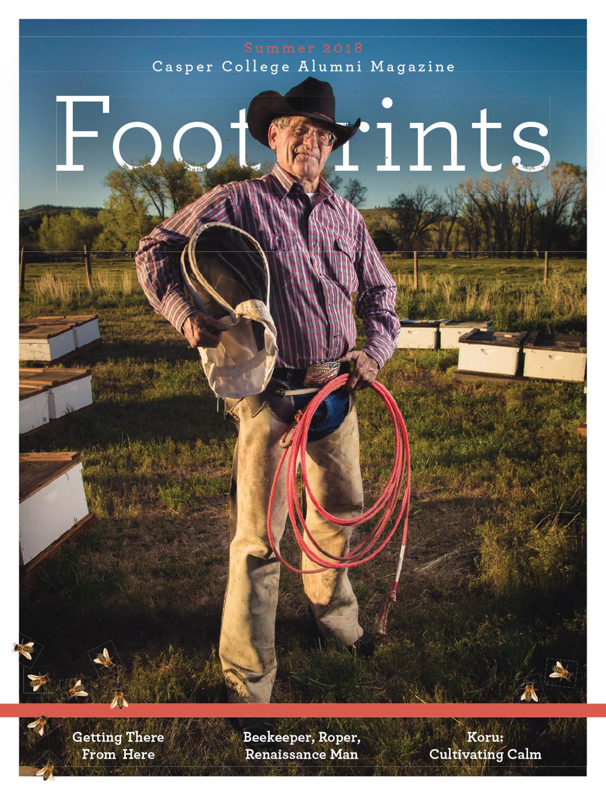 Footprints Magazine - Summer 2018 cover image