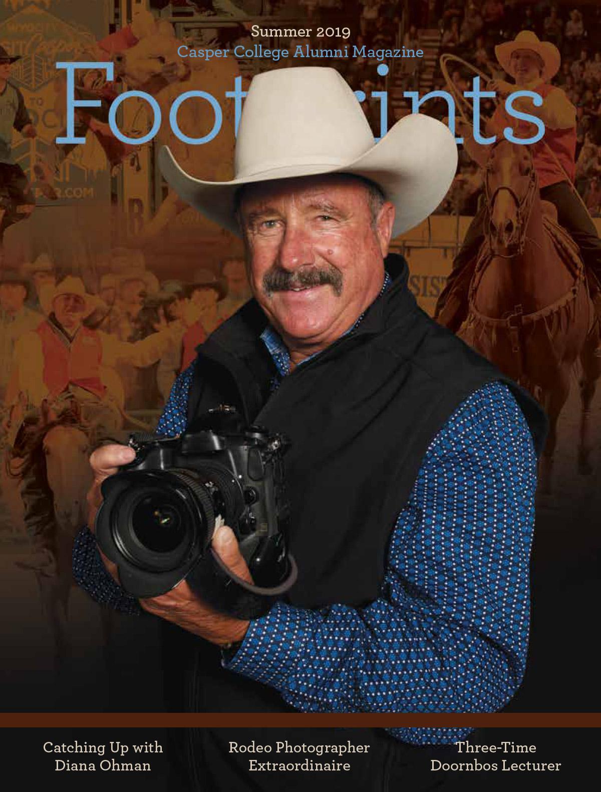 Footprints Magazine - Summer 2019 cover image